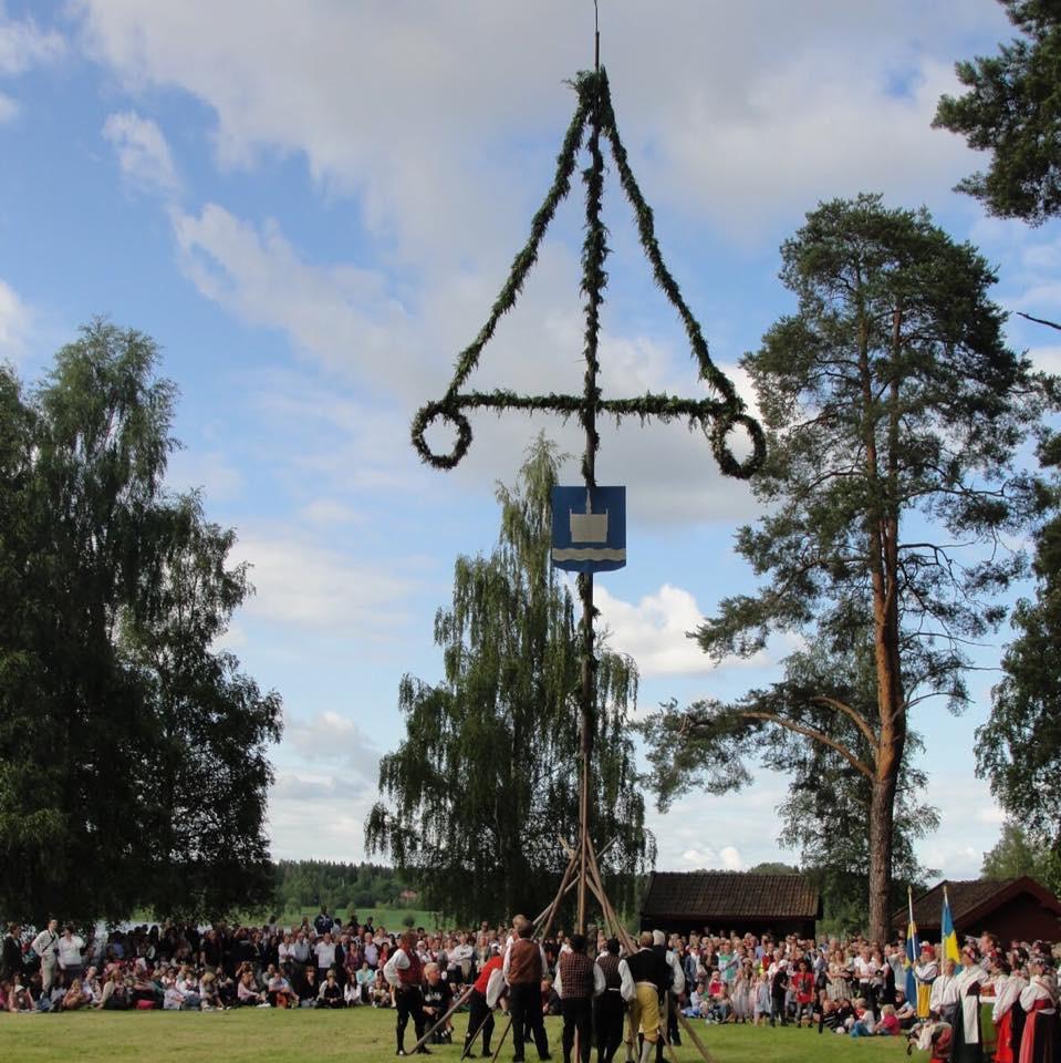 Midsommar i Torsång 2019