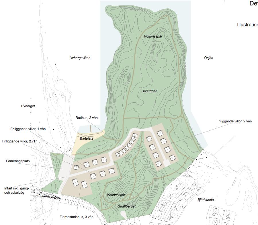 Beslutet om detaljplan för Uvbergsviken upphävt